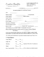Small Group Quote Request Form